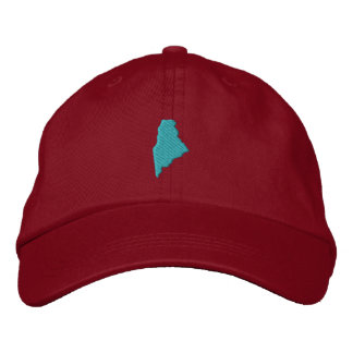 Maine Embroidered Baseball Hat