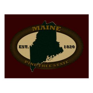 Maine Est. 1820 Postcard