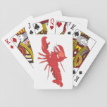"Maine Event Lobster Playing Cards<br><div class=""desc"">Game night will always be a Maine event with these Lobster Playing Cards. The design features a cartoon drawing of everyone&#39;s favorite crustacean!</div>"