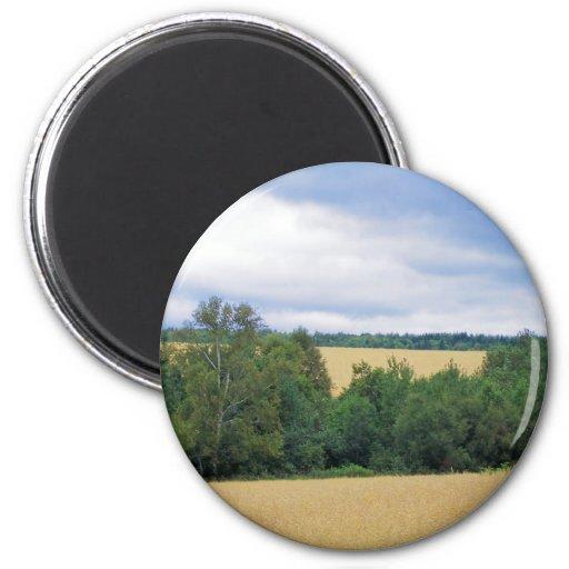 Maine Farmland Fridge Magnets