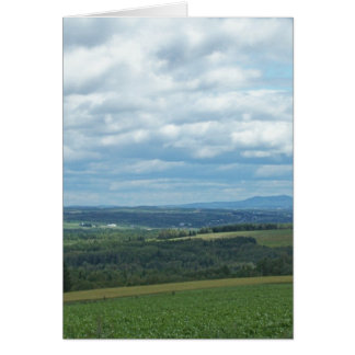 Maine Farmland Greeting Cards