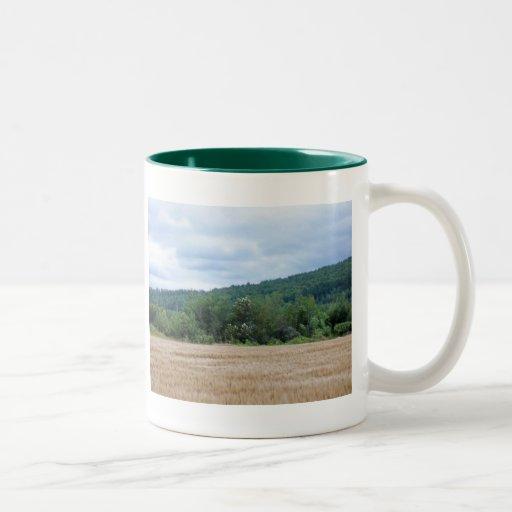 Maine Farmland Two-Tone Coffee Mug