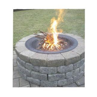¡Maine FirePits! Bloc De Papel
