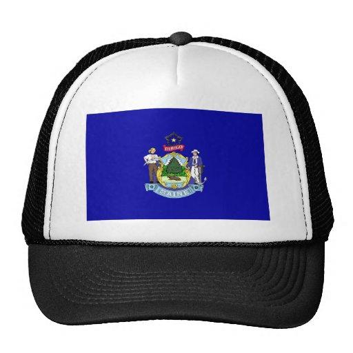 Maine Flag Trucker Hat