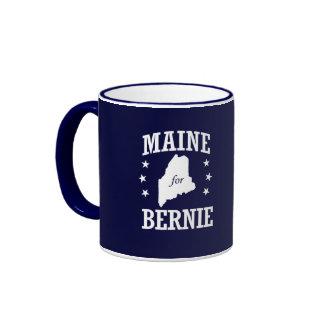 MAINE FOR BERNIE SANDERS RINGER MUG