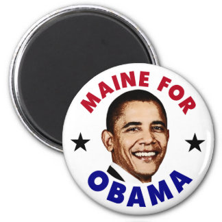 Maine For Obama Magnet