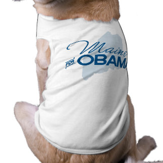 Maine for Obama.png Dog Clothes