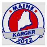Maine Fred Karger Posters