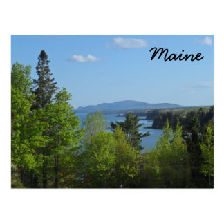 Maine - Frenchman Bay Postcard