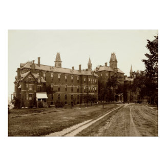 Maine General Hospital in Portland, Circa 1900 Posters