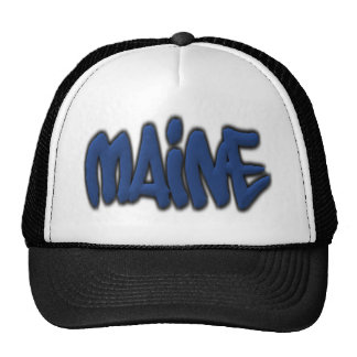 Maine Graffiti Hat