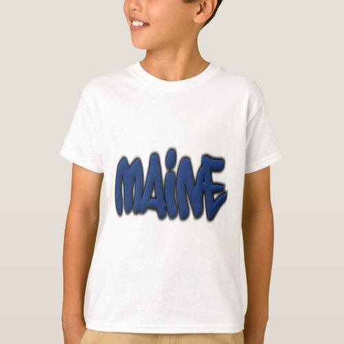 Maine Graffiti T_Shirt