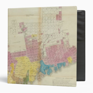Maine grants and land sales, Maine 3 Ring Binder