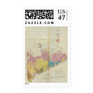 Maine grants and land sales, Maine Postage