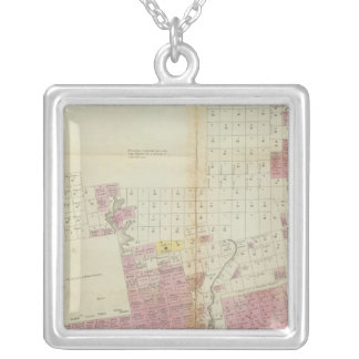 Maine grants and land sales, Maine Silver Plated Necklace