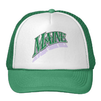 Maine greencaps cap trucker hat