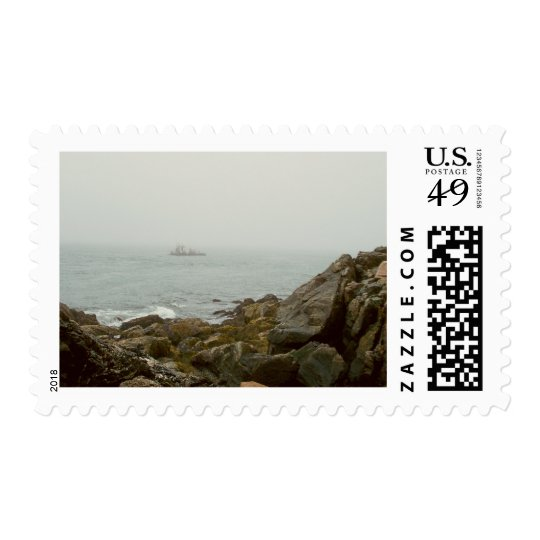 Maine Harbor Postage