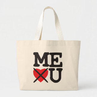 Maine Hates You Large Tote Bag