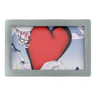 maine head heart, tony fernandes rectangular belt buckle
