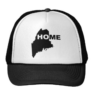 Maine Home Away From State Ball Cap Hat