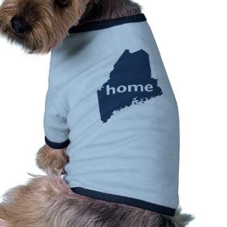Maine Home Doggie T-shirt