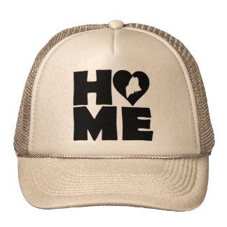 Maine Home Heart State Ball Cap Trucker Hat
