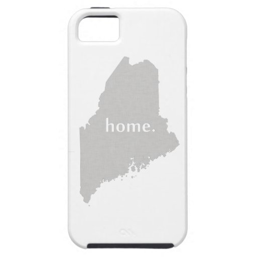 Maine home silhouette state map case for iPhone 5/5S