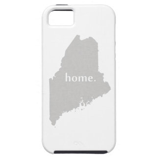 Maine home silhouette state map iPhone SE/5/5s case