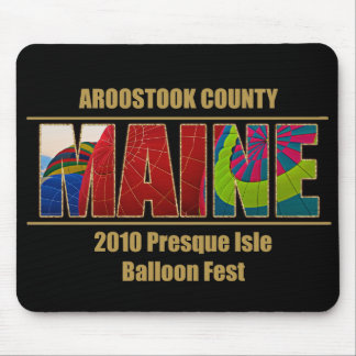 MAINE Image Text PI Balloon Fest 2010 Mouse Pad
