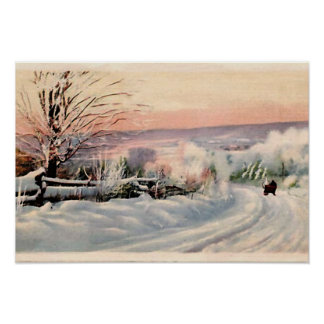 Maine in Winter Posters