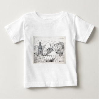 Maine Inking by Piliero Baby T-Shirt
