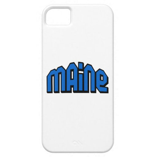 Maine iPhone 5 Protector