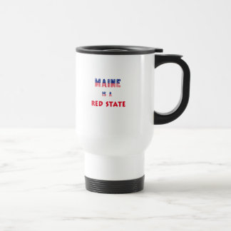 Maine is a Red State Travel Mug
