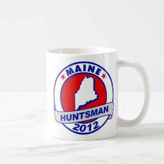 Maine Jon Huntsman Classic White Coffee Mug