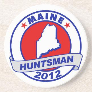 Maine Jon Huntsman Beverage Coaster
