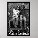 Maine L'ttitude Poster