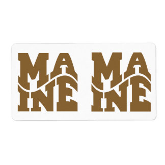 Maine Labels