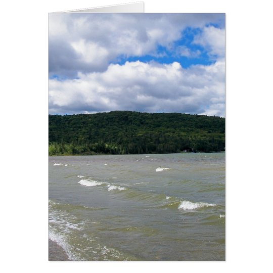 Maine Lake Card