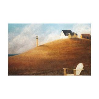 Maine Landscape 2010 Canvas Print