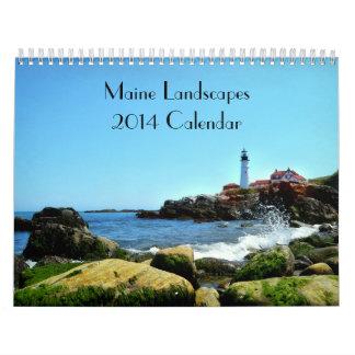 Maine Landscape Calendar 2014