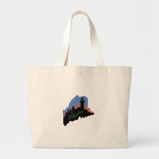 Maine Large Tote Bag