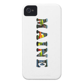 Maine Letters iPhone 4 Case-Mate Case