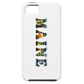 Maine Letters iPhone SE/5/5s Case