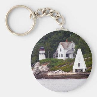 Maine Light House Keychain