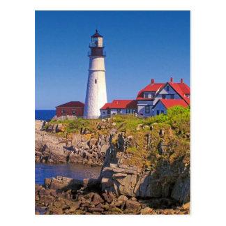 Maine Lighthouse 10 Postcard