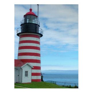 Maine Lighthouse 26 Postcard