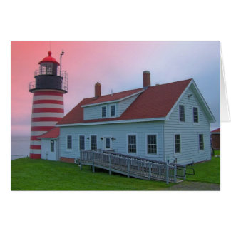 Maine Lighthouse 29 Greeting Cards