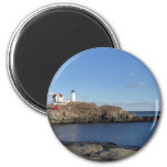 Maine Lighthouse 2 Inch Round Magnet