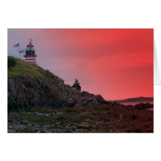 Maine Lighthouse 34 Greeting Card