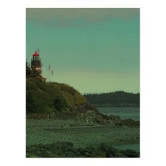 Maine Lighthouse 35 Postcards